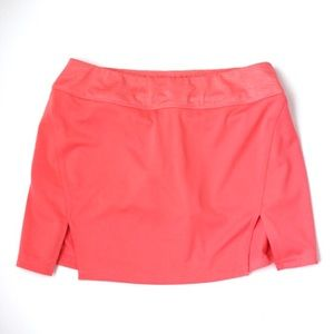 Bolle peach coral athletic skort short skirt